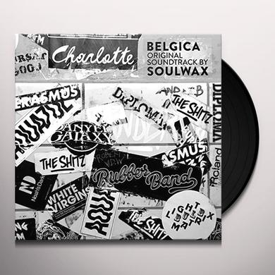 SOULWAX (UK) BELGICA ORIGINAL SOUNDTRACK Vinyl Record - UK Import