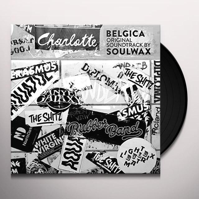 SOULWAX (UK) BELGICA ORIGINAL SOUNDTRACK Vinyl Record - UK Release