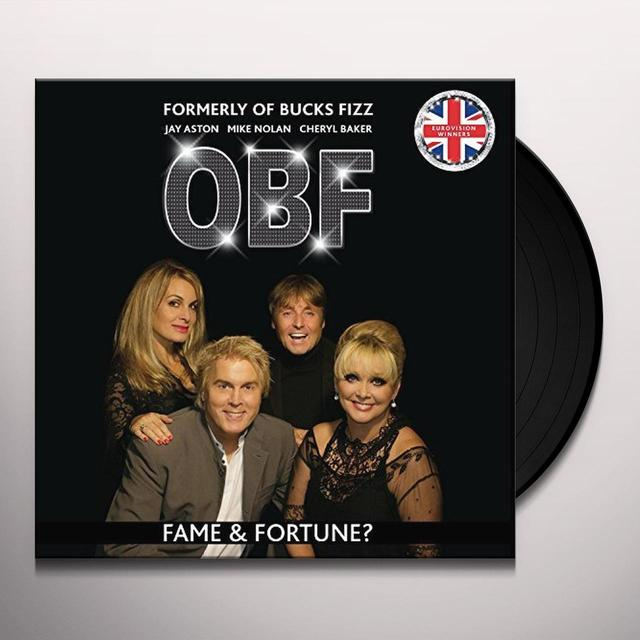 FORMERLY OF BUCKS FIZZ FAME & FORTUNE? Vinyl Record - w/CD, UK Import