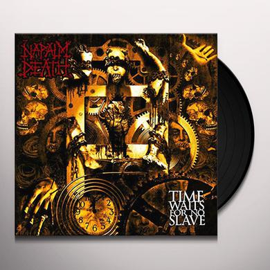 Napalm Death TIME WAITS FOR NO SLAVE: SPLATTER VINYL Vinyl Record