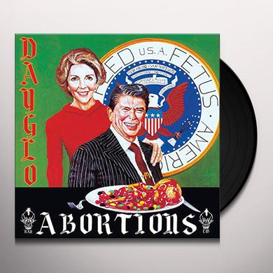 Dayglo Abortions FEED US A FETUS Vinyl Record - UK Import