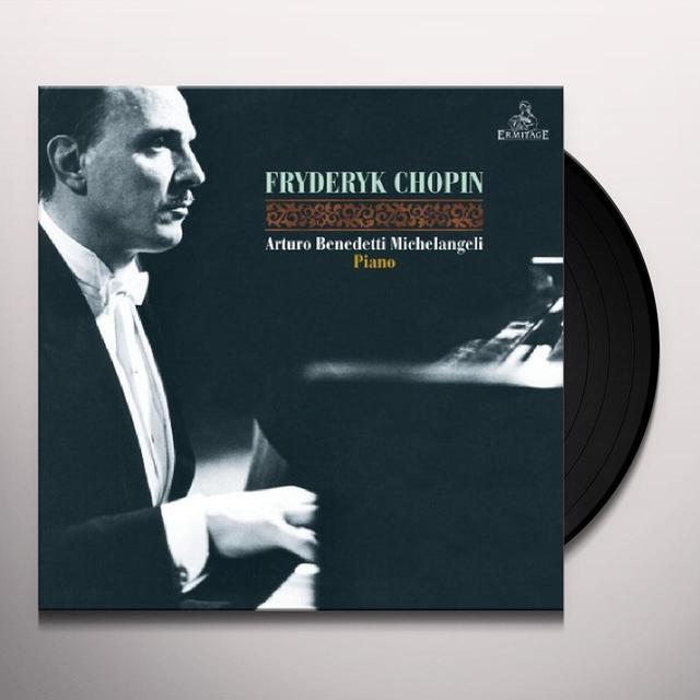 Chopin / Arturo Benedetti Michelangeli CHOPIN Vinyl Record - UK Import