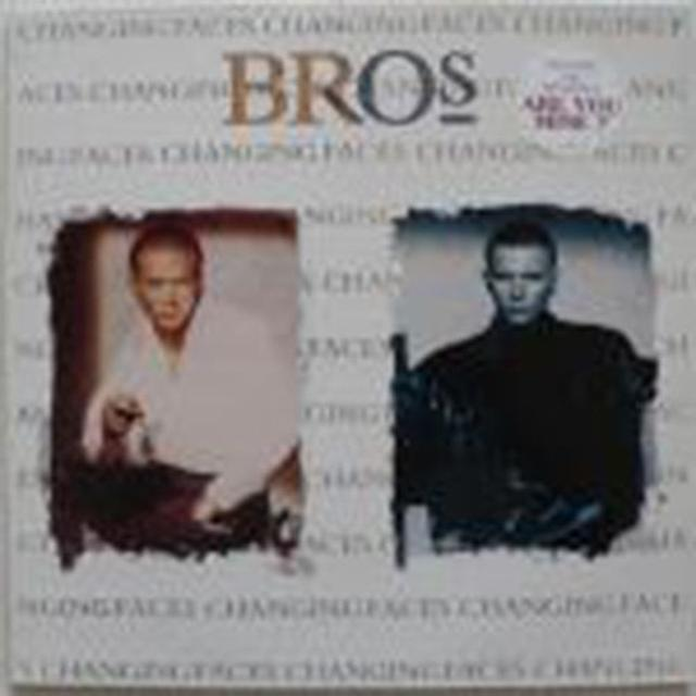 Bros CHANGING FACES Vinyl Record