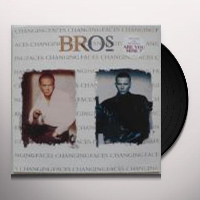 Bros CHANGING FACES Vinyl Record - UK Import