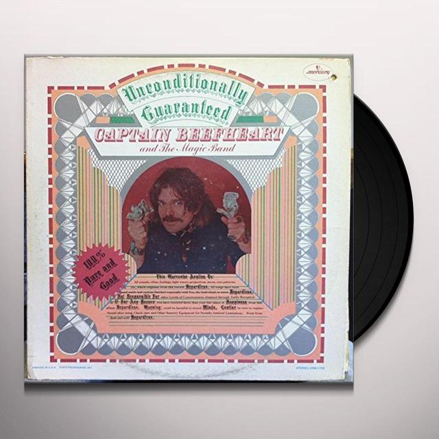 Captain Beefheart & The Magic Band UNCONDITIONALLY GUARANTEED Vinyl Record - UK Import