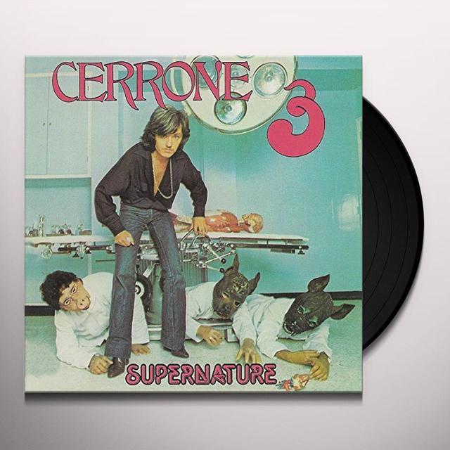Cerrone SUPERNATURE Vinyl Record - UK Import
