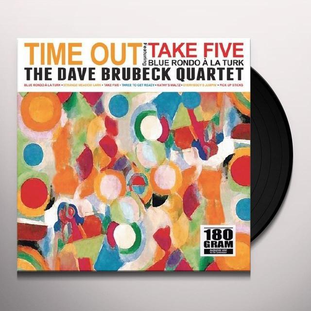 The Dave Brubeck Quartet TIME OUT Vinyl Record - UK Import