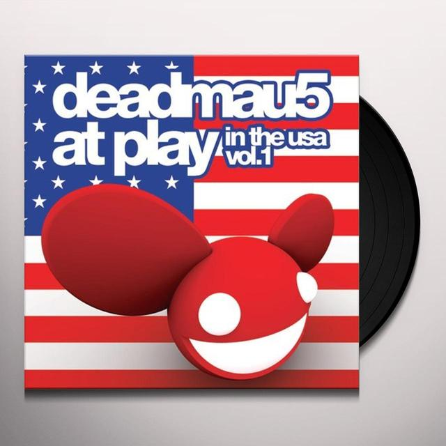 Deadmau5 AT PLAY IN THE USA Vinyl Record - UK Release