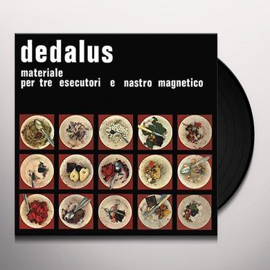 Dedalus MATERIALE PER TRE ESECUTO Vinyl Record - UK Import