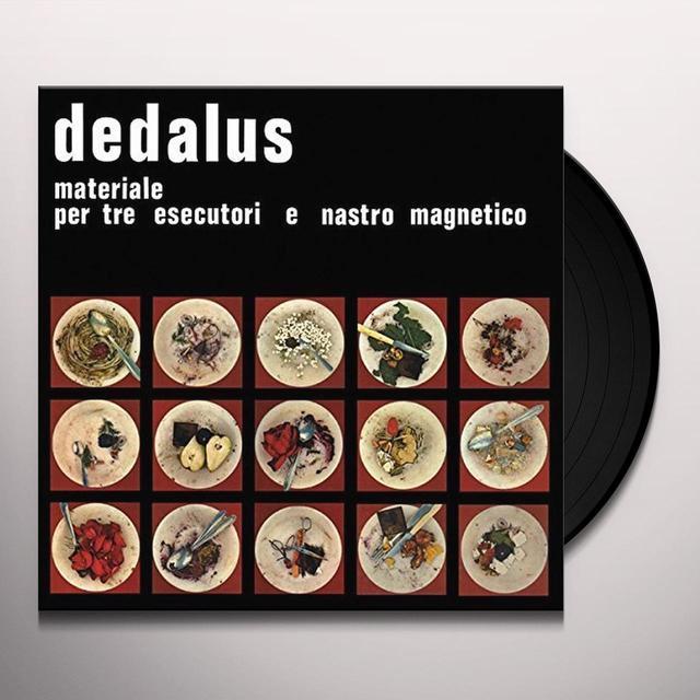 Dedalus MATERIALE PER TRE ESECUTO Vinyl Record
