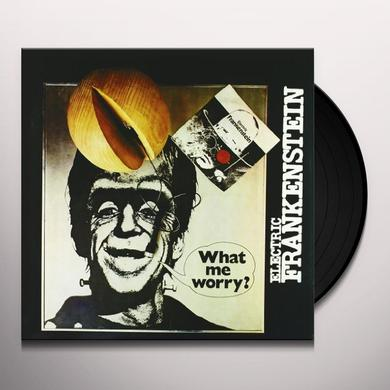 Electric Frankenstein WHAT ME WORRY? Vinyl Record - UK Import