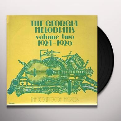 GEORGIA MELODIANS VOLUME 2 1924-1926 Vinyl Record