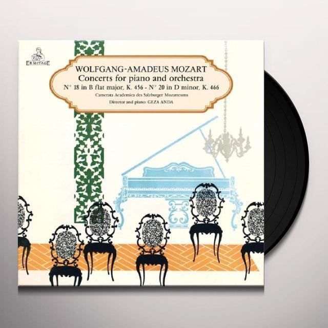 Mozart / Geza Anda MOZART CONCERTO K466 N.18 / KV456 N.20 Vinyl Record - UK Import
