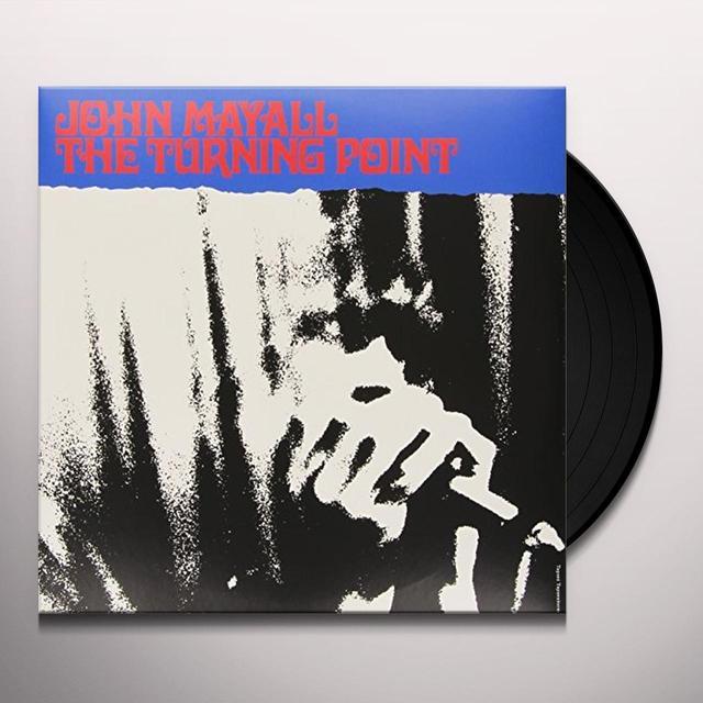 John Mayall TURNING POINT Vinyl Record - UK Import