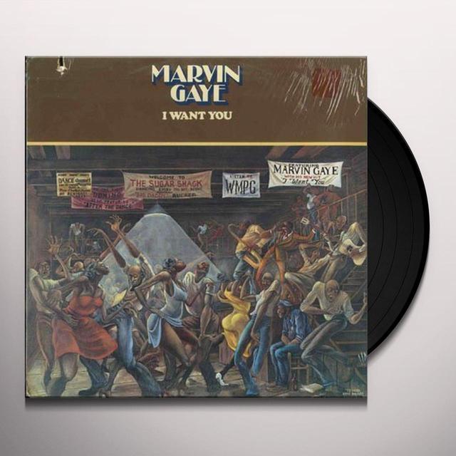 Marvin Gaye I WANT YOU Vinyl Record - UK Import