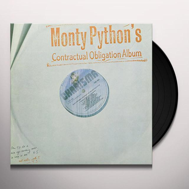 Monty Python CONTRACTUAL OBLIGATION ALBUM Vinyl Record