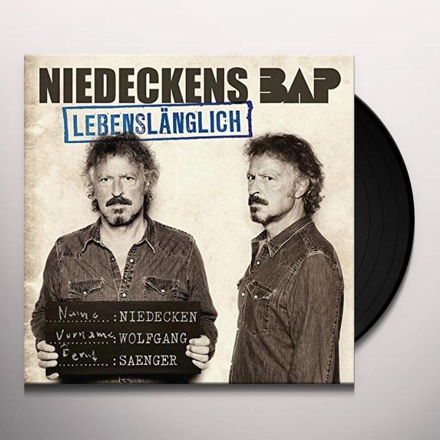 NIEDECKENS BAP LEBENSLAENGLICH Vinyl Record