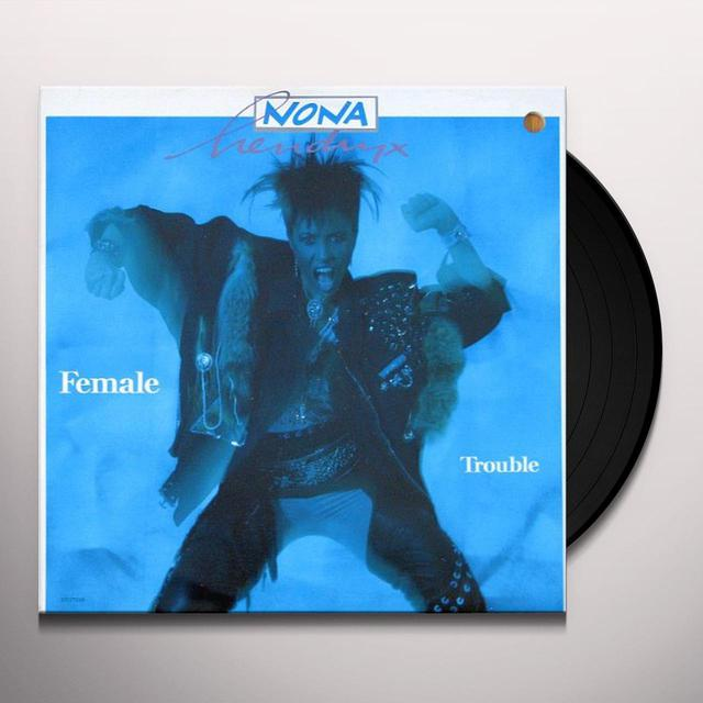 Nona Hendryx FEMALE TROUBLE - CUT OUT Vinyl Record