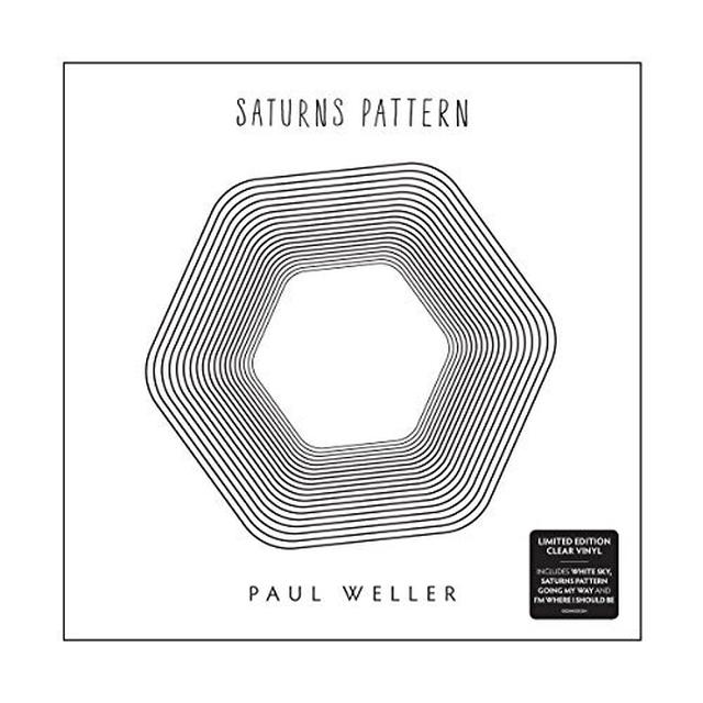 Paul Weller SAURNS PATTERN Vinyl Record