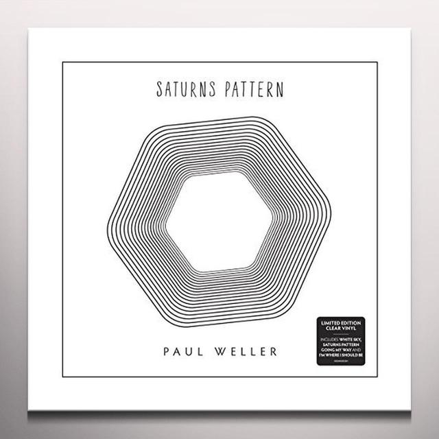 Paul Weller SAURNS PATTERN Vinyl Record - Colored Vinyl, UK Import