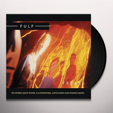 Pulp FREAKS Vinyl Record - UK Import