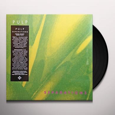Pulp SEPARATIONS Vinyl Record - UK Import