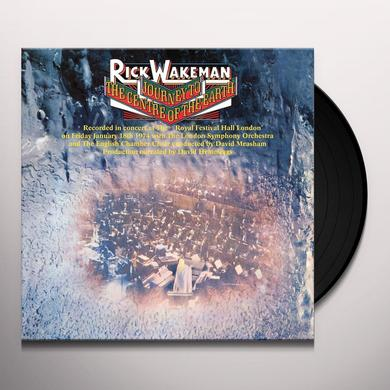 Rick Wakeman JOURNEY TO THE CENTRE OF THE EARTH Vinyl Record - UK Import