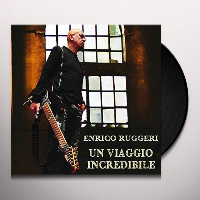 Enrico Ruggeri UN VIAGGIO INCREDIBILE Vinyl Record - Italy Import