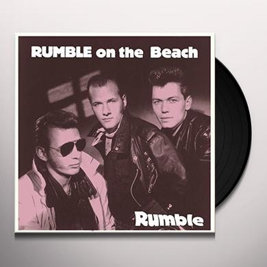 RUMBLE ON THE BEACH RUMBLE  (GER) Vinyl Record - 10 Inch Single