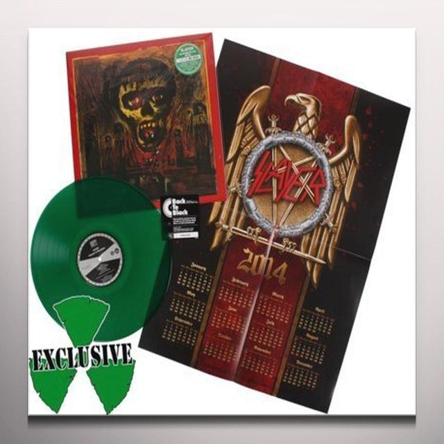 Slayer SEASONS IN THE ABYSS 180 GRAM GREEN VINYL Vinyl Record
