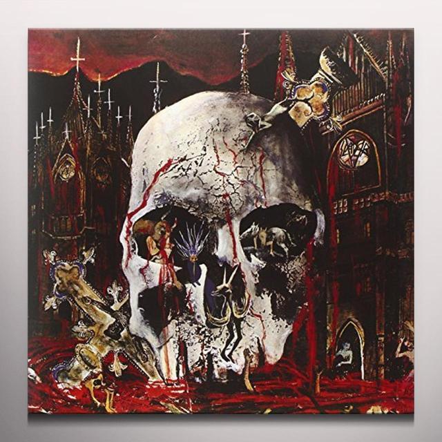 Slayer SOUTH OF HEAVEN 180 GRAM GREEN VINYL Vinyl Record - Colored Vinyl, Green Vinyl