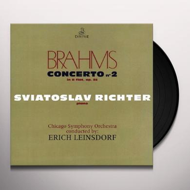 BRAHMS / SVIATOSLAV RICHTER / CHICAGO SYMPHONIC CONCERTO 2 Vinyl Record