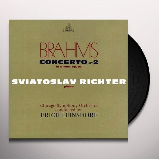 BRAHMS / SVIATOSLAV RICHTER / CHICAGO SYMPHONIC CONCERTO 2 Vinyl Record - UK Import