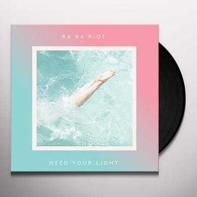 Ra Ra Riot NEED YOUR LIGHT Vinyl Record - Canada Import