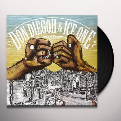 Don Diegoh & Ice One LATTE E SANGUE Vinyl Record
