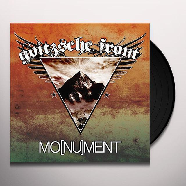 GOITZSCHE FRONT MO(NU)MENT Vinyl Record