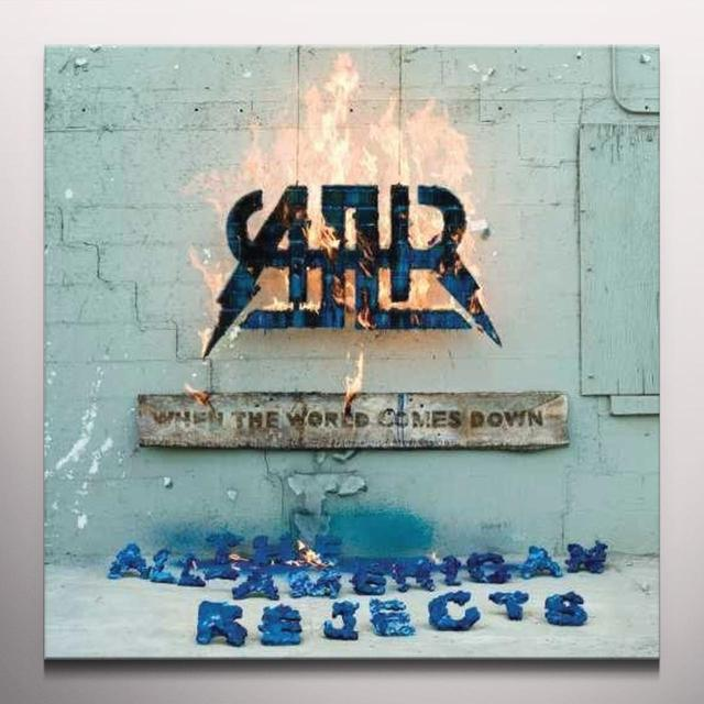 The All-American Rejects WHEN THE WORLD COMES DOWN Vinyl Record - Clear Vinyl, Gatefold Sleeve