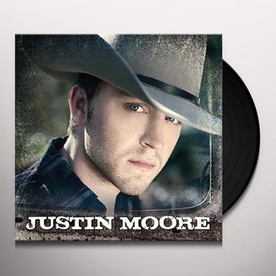 JUSTIN MOORE Vinyl Record - 180 Gram Pressing