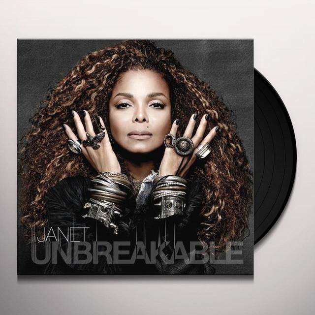 Janet Jackson UNBREAKABLE Vinyl Record - Gatefold Sleeve