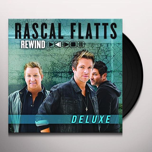 Rascal Flatts REWIND Vinyl Record - 180 Gram Pressing, Deluxe Edition