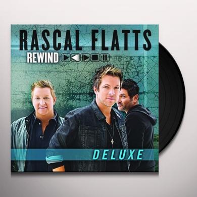 Rascal Flatts REWIND Vinyl Record - 180 Gram Pressing, Deluxe Edition