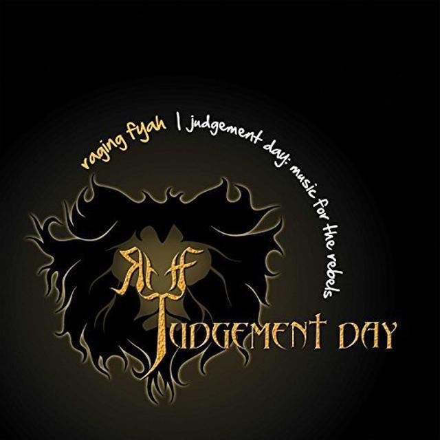 Raging Fyah JUDGEMENT DAY Vinyl Record