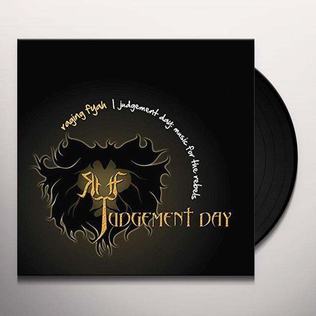 Raging Fyah JUDGEMENT DAY Vinyl Record - Gatefold Sleeve