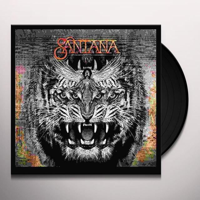 SANTANA IV  (DLI) Vinyl Record - Gatefold Sleeve