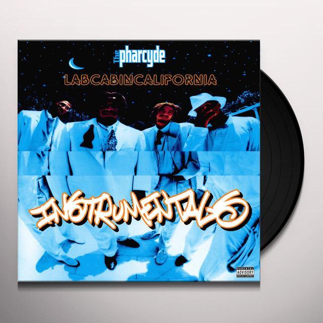Pharcyde LABCABINCALIFORNIA INSTRUMENTALS Vinyl Record