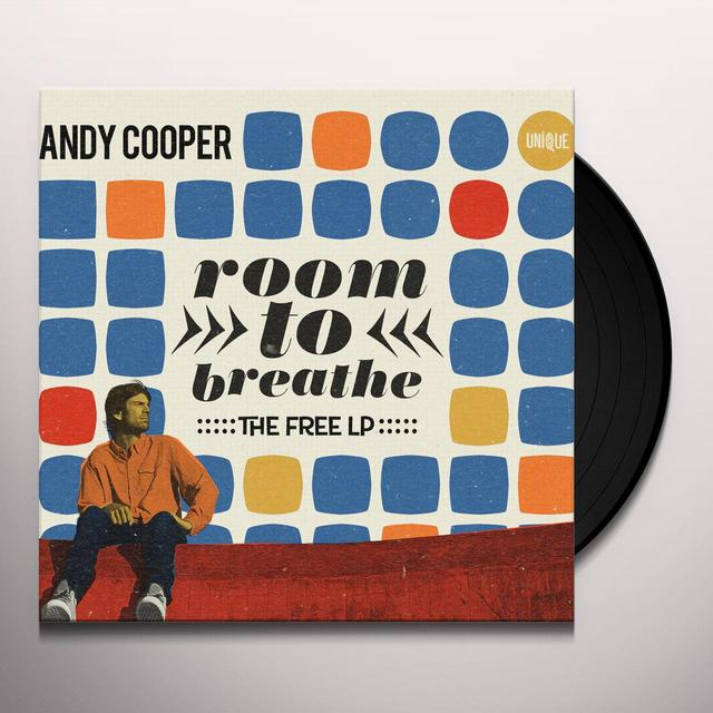 Andy Cooper ROOM TO BREATHE: THE FREE Vinyl Record