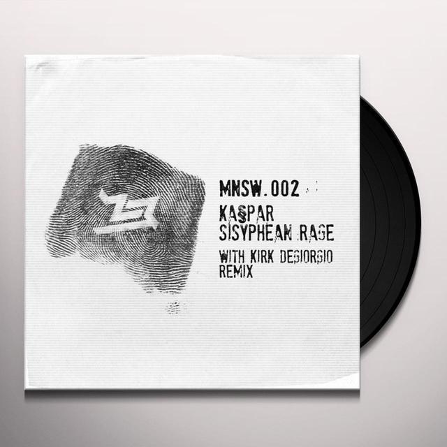Kaspar SISYPHEAN RAGE Vinyl Record