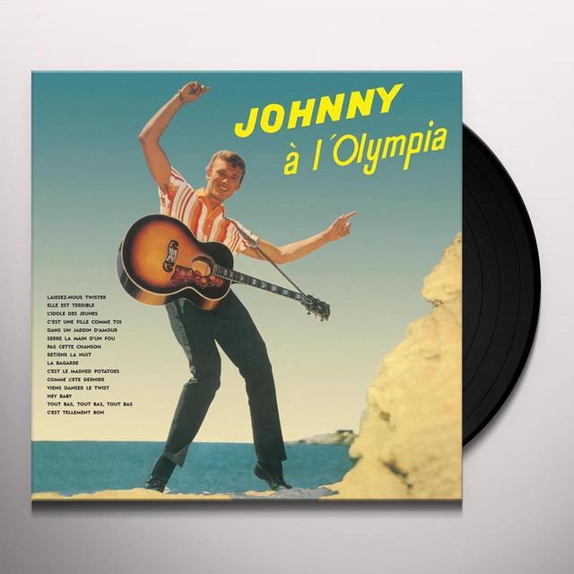 Johnny Hallyday JOHNNY A L'OLYMPIA Vinyl Record