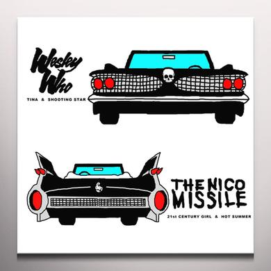 WESLEY WHO / NICO MISSILE SPLIT Vinyl Record - Colored Vinyl