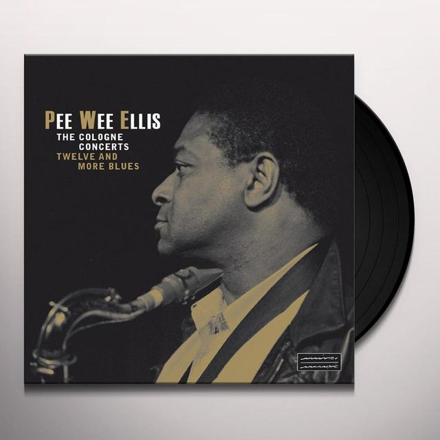 Pee Wee Ellis COLOGNE CONCERTS Vinyl Record - Gatefold Sleeve